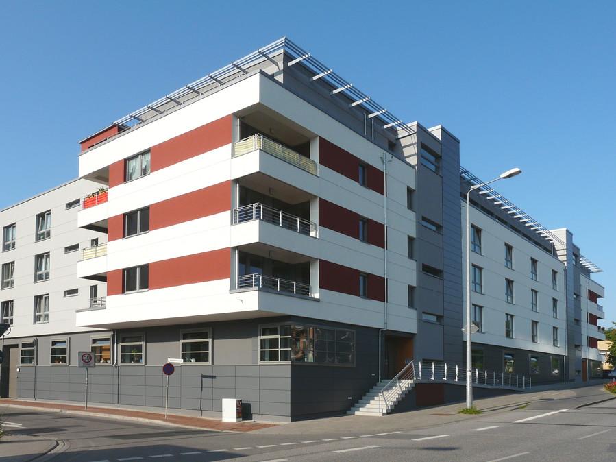neubau betreutes wohnen 42 we kfw 60 a bernhard str rostock architektenkammer m v. Black Bedroom Furniture Sets. Home Design Ideas