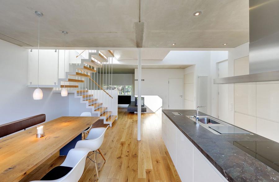 wohnhaus mit aussicht fischland ii architektenkammer m v. Black Bedroom Furniture Sets. Home Design Ideas